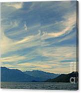 Wispy Clouds Canvas Print
