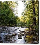 Wissahickon Creek Near Bells Mill Canvas Print