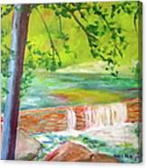Wissahickon Canvas Print