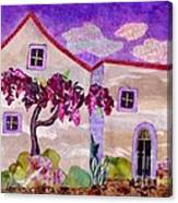 Wisteria In Bloom Canvas Print