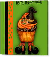 Witch Cupcake 3  Canvas Print