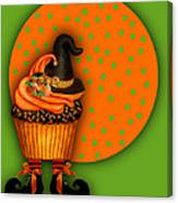 Witch Cupcake 5 Canvas Print