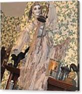 Witch Spirit At The Catfish Plantation Restaurant Canvas Print