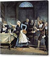 Witch Trial Canvas Print