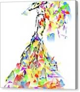 With Umbrella 0645 Marucii Canvas Print