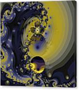 Within A Wave Canvas Print