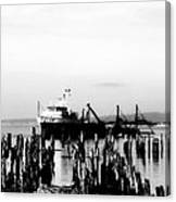 With'in The Harbor Canvas Print