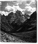 Within The North Fork Of Cascade Canyon Canvas Print