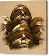 Some Heads Canvas Print