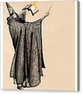 Wizard Of Orange Canvas Print
