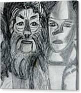 Wizard Of Oz Friends Canvas Print