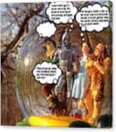 Wizard Of Oz Humor II Canvas Print