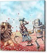 Wizard Of Oz - Poppy Field Canvas Print