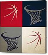 Wizards Ball And Hoop Canvas Print