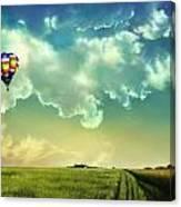 Wizards Balloon Canvas Print