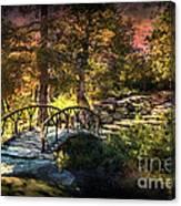 Woddard Park Bridge II Canvas Print