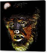Wolf Man Original Work One Canvas Print
