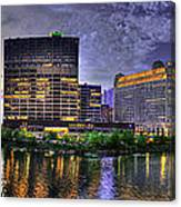 Wolf Point Panorama Canvas Print
