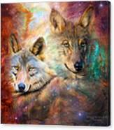 Wolf - Spirit Of The Universe Canvas Print