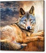 Wolf - Spirit Of Truth Canvas Print