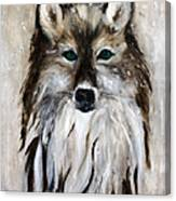 Wolf - Star Trakr Canvas Print