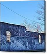 wolf wall Quapaw Ok Canvas Print