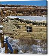 Wolfe Ranch Cabin Arches National Park Utah Canvas Print