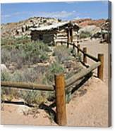 Wolfes Ranch - Arches Nationalpark Canvas Print