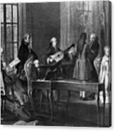 Wolfgang Amadeus Mozart (1756-1791) Canvas Print