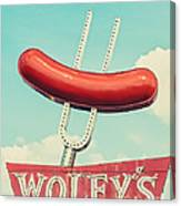 Wolfy's In Chicago Canvas Print