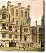 Wollaton Hall, Nottinghamshire, 1600 Canvas Print