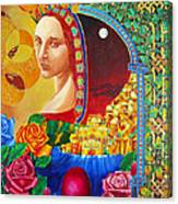 Woman Of Jerusalem Canvas Print