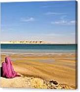 Woman Of The Desert Canvas Print