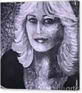 Woman Portreit Canvas Print