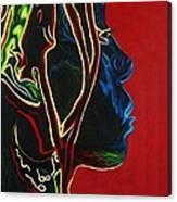Womans Essence  Canvas Print
