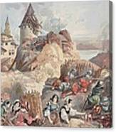 Women At The Siege Of Marseille Canvas Print