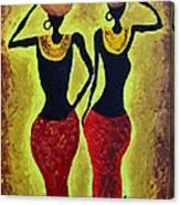 Women At Work Canvas Print