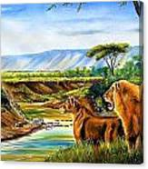 Wonder Of The Great Migration Canvas Print