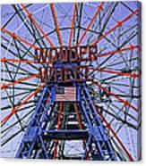 Wonder Wheel 2013 - Coney Island - Brooklyn - New York Canvas Print
