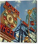 Wonder Wheel - Coney Island Canvas Print