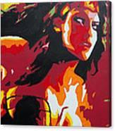 Wonder Woman - Sister Inspired Canvas Print