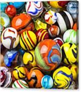 Wonderful Marbles Canvas Print