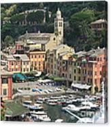 Wonderful Portofino Canvas Print