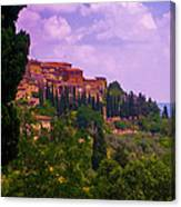 Wonderful Tuscany Canvas Print