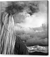 Wondering About Tomorrow Canvas Print