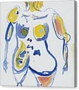 Wondering Amy Canvas Print