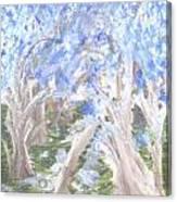Wondering Through Trees Canvas Print