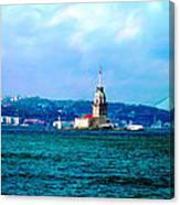 Wonders Of Istanbul Canvas Print