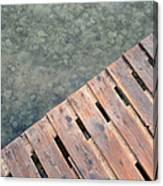 Wood And Sea Canvas Print