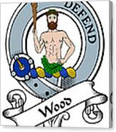 Wood Clan Badge Canvas Print